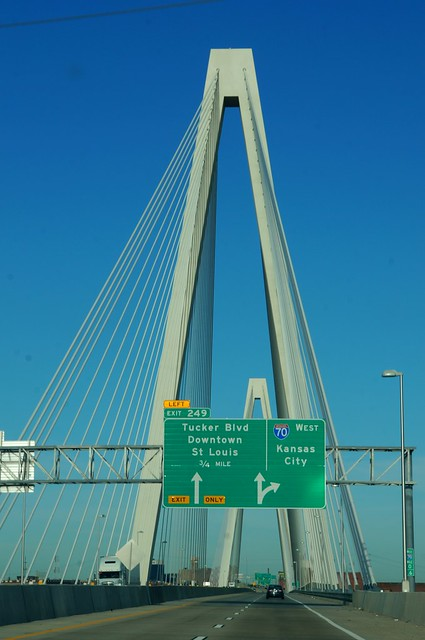 New I-70 Bridge Over Mississippi