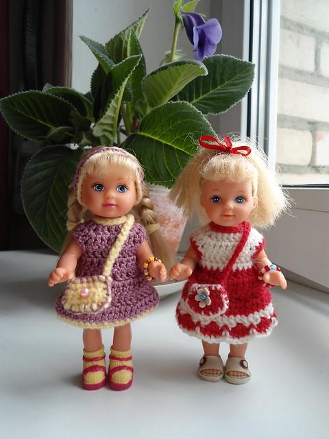 Вязание для маленьких куколок для 43