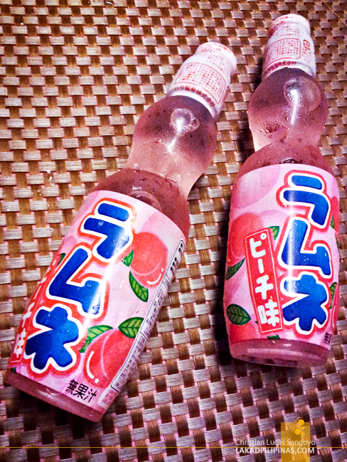 Ramune at Networld Hotel's Kaishu Japanese Restaurant in Manila