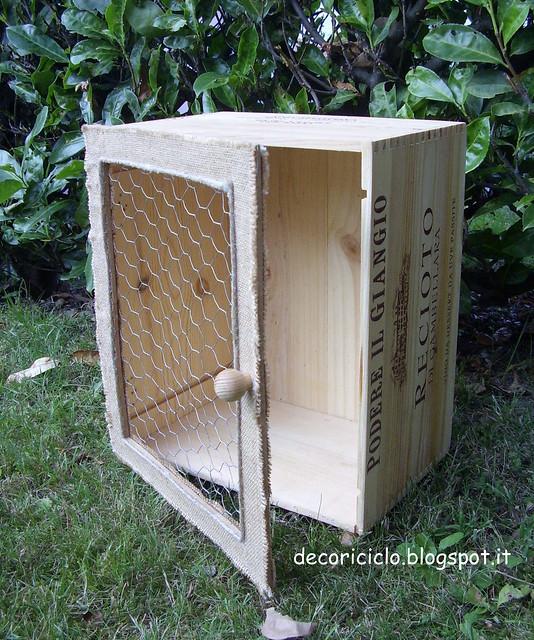 mini-armadietto cassetta di legno 2