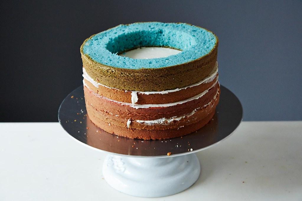 Fourth of July Cake: Flag Cake