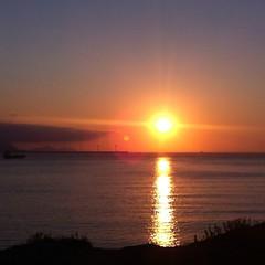 Me encanta la puesta de sol