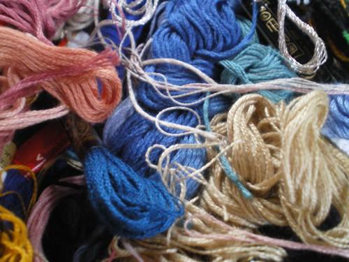 Entre poème et textile
