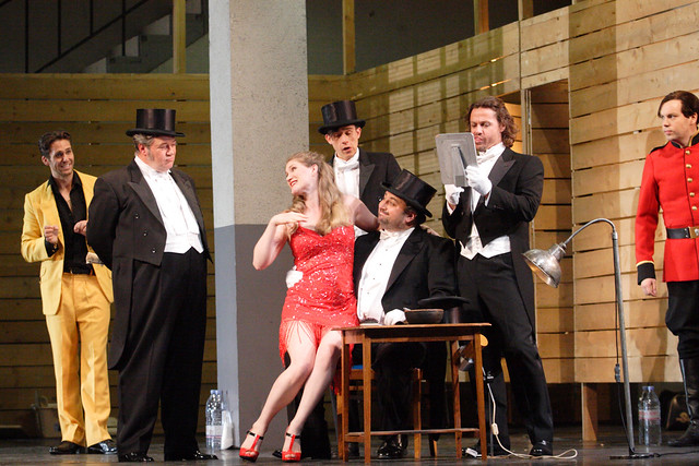 The Royal Opera's Ariadne auf Naxos in Ariadne auf Naxos © ROH / Catherine Ashmore 2014