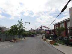 Ass plaza - view of the new Shea Stadium
