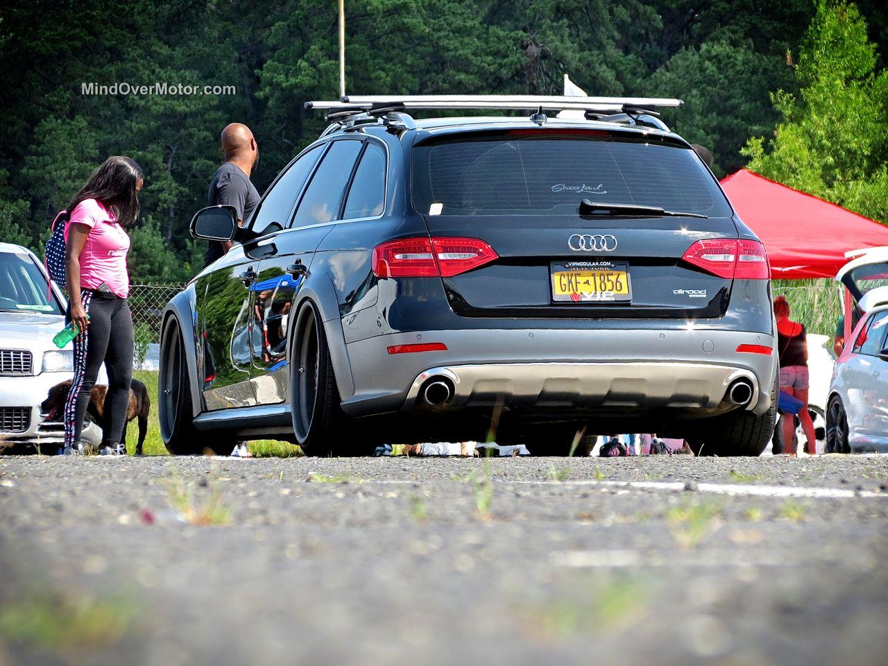Slammed Audi Allroad Rear