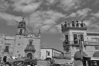 Guadalajara - Templo de San Juan de Dios and Plaza de los Mariachis