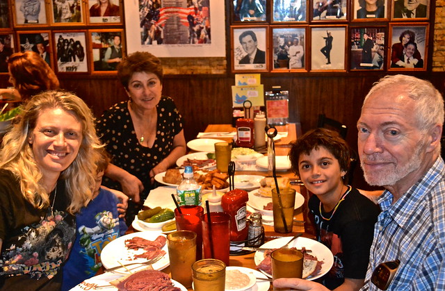 Family Time - Carnegie Deli NYC