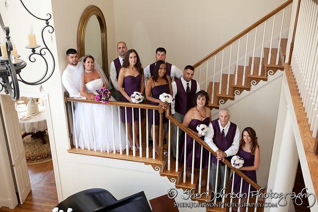 Keri & Michael Yancey House Wedding Grayson GA