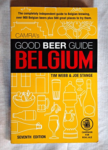 Good Beer Guide to Belgium (front cover)