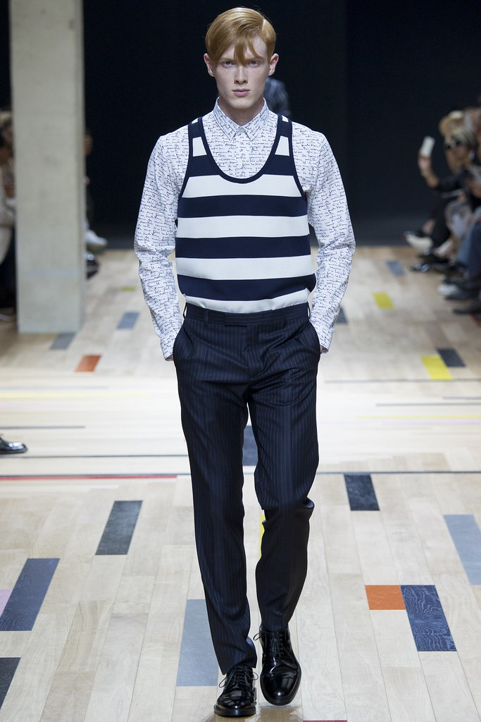 SS15 Paris Dior Homme011_Linus Wordemann(VOGUE)