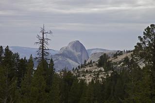 Behind Half Dome