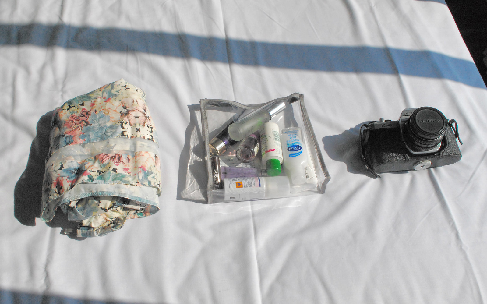 minibreak packing list