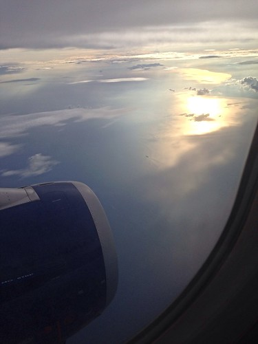 ocean sea sky english beautiful clouds canal view north aeroplane aerial merging
