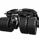 LEGO Batman Tumbler (76023) Back