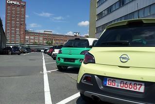 Opel ADAM ROCKS - Erstserien-Exemplare für Medienpräsentation in Riga
