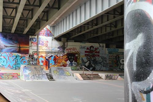 Garfield Park Under the Bridge