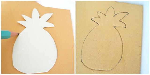 Pineaple DIY collage 2