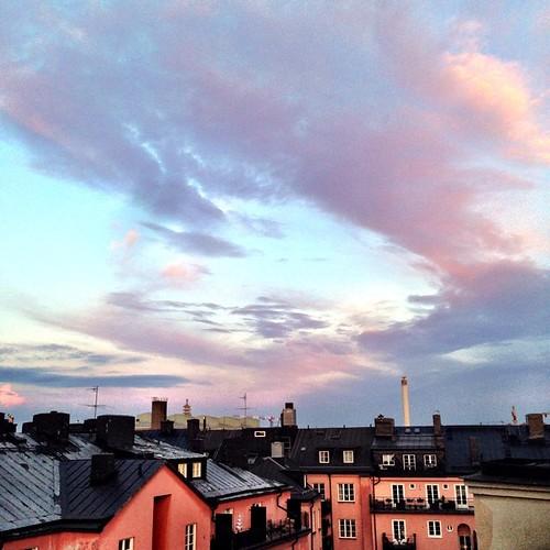 Kväll på Östgötagatan