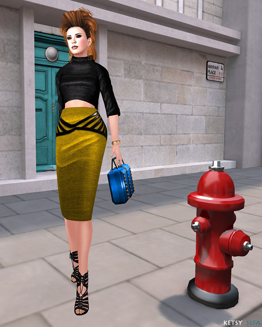 Hair Fair - Alien Reign (New Post @ Second Life Fashion Addict)