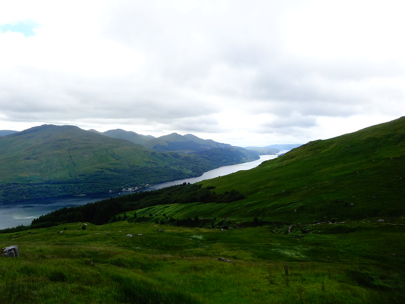Across and above Arrochar