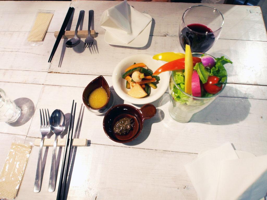 Ain Soph Ginza Tokyo Salad Parfait
