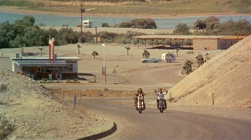 Easy Rider Filming Location - Park Moabi Road