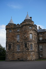 part of Holyrood Palace, Edinburgh, Scotland