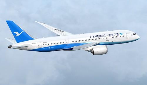 Xiamen Air Boeing 787-8 B-2768
