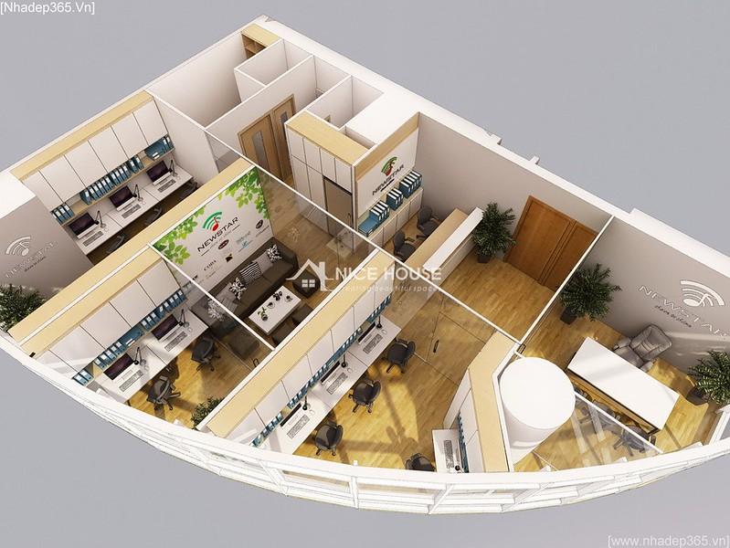 Thiết kế nội thất văn phòng EuroWindow- HN_02