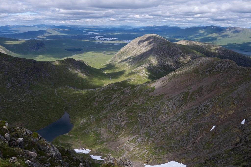 Coire Lochain and Rannoch Moor