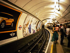Waiting for the tube