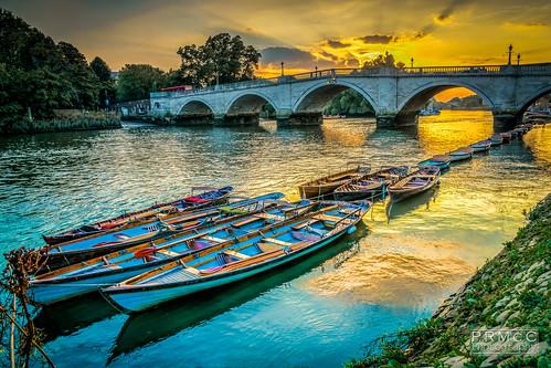 uk bridge sunset england london thames landscape photography unitedkingdom richmond hdr photomatix a6000