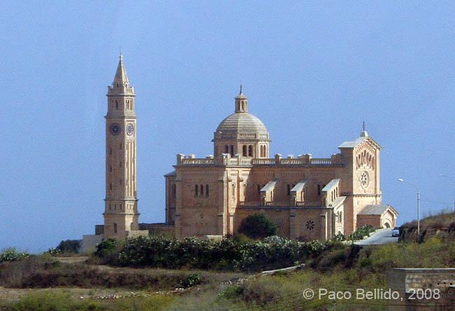 Basílica de Ta' Pinu. © Paco Bellido, 2008