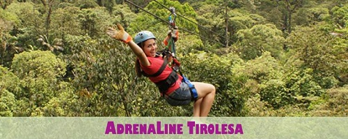 AdrenaLine Zip Line in Costa Rica