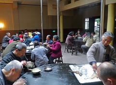 Dininer at Hongchun Monastery, Emei Shan