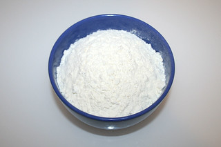 04 - Zutat Mehl / Ingredient flour