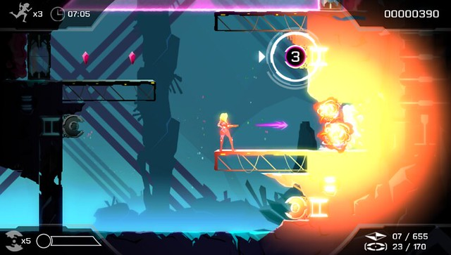 Velocity 2X on PS4 and PS Vita