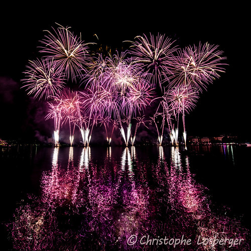 Grand Feu d'Artifice @ Fêtes de Genève 2014
