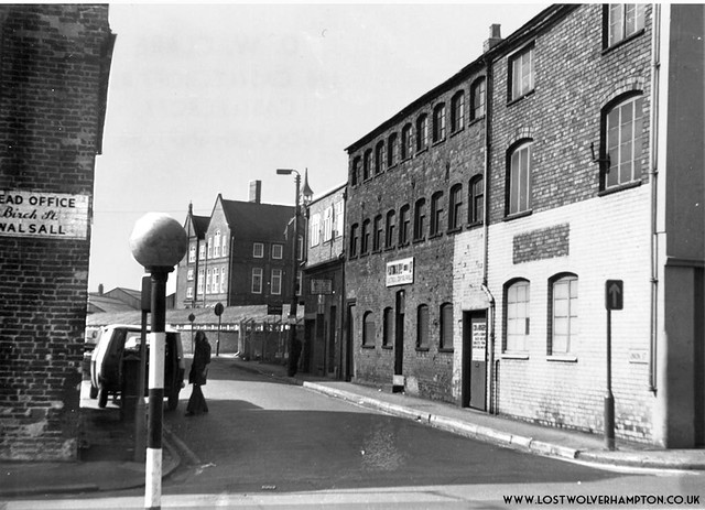 The entrance from Horseley Fields into  Union Street, late 1960's