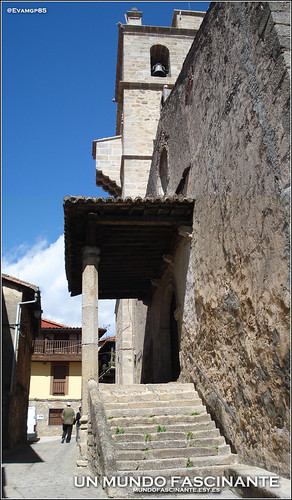 Iglesia de San Lorenzo, Garganta la Olla.