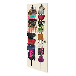 over the door purse storage