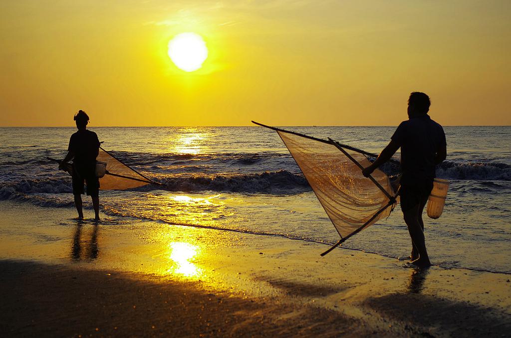 PENTAX夏日炎炎攝影比賽 - 日昇漁人