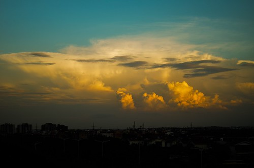 india rain clouds evening nikon heaven dusk famous dslr newdelhi iphone5s