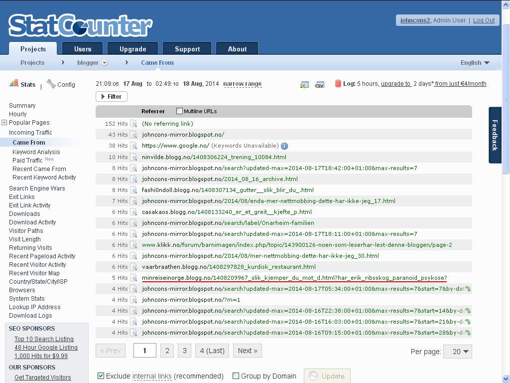 blogg nettmobbing