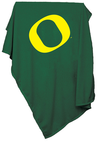 Oregon Ducks NCAA Sweatshirt Blanket