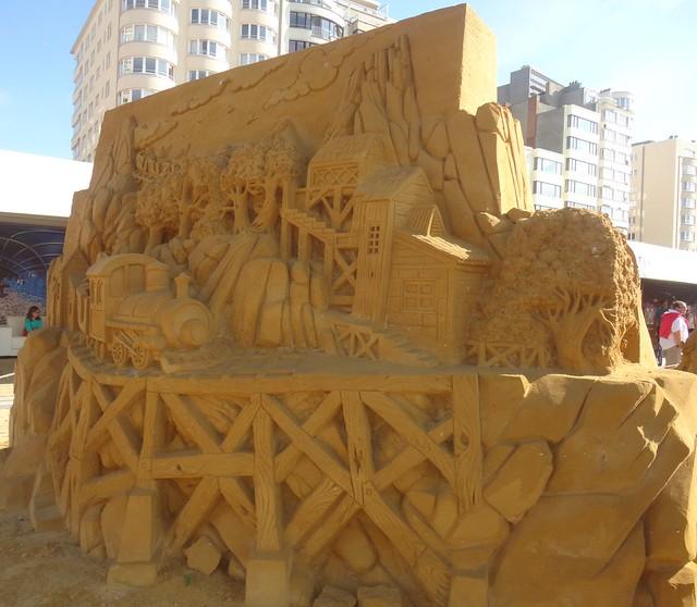 Sculpures sur sable Disney - News Touquet p.1 ! 14953766021_a7c05ae2c1_z