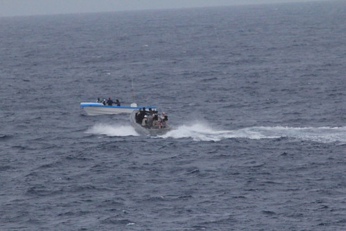 USS Ingraham, USS McClusky Disrupt 486 Kilograms of Cocaine