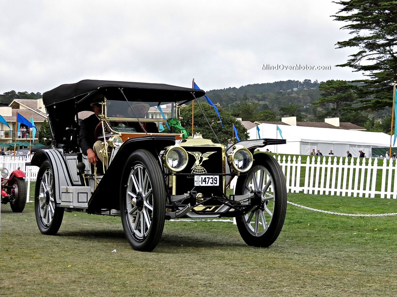 Pebble Beach 2014 American Underslung