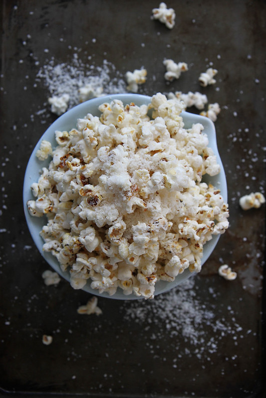Lemon Coconut Popcorn